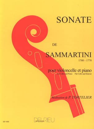SAMMARTINI - Sonata in G major - Sheet Music - di-arezzo.com