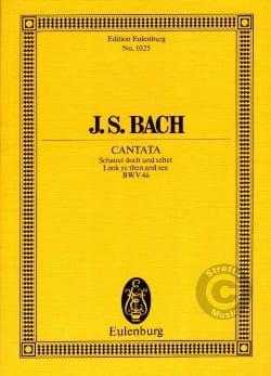 Cantata Schauet Doch Und Sehet Bwv 46 - BACH - laflutedepan.com