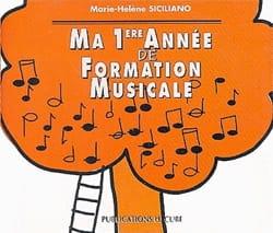 SICILIANO - CD / Ma 1ère année de formation musicale - Partition - di-arezzo.fr