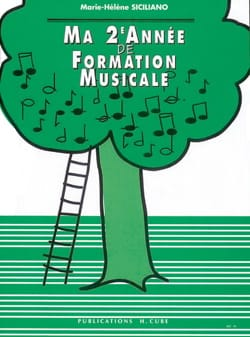 SICILIANO - Ma 2ème année de Formation Musicale - Sheet Music - di-arezzo.co.uk