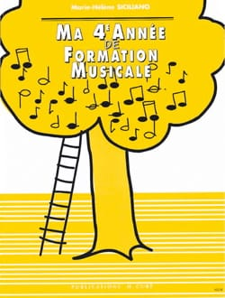 SICILIANO - Ma 4ème année de Formation Musicale - Sheet Music - di-arezzo.co.uk