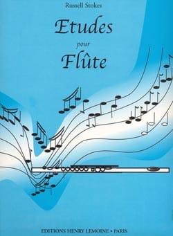 Russell Stokes - Etudes pour Flûte - Partition - di-arezzo.fr
