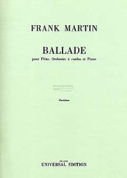 Ballade pour flûte, orch. cordes, piano - Partition laflutedepan