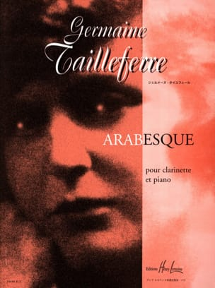 Germaine Tailleferre - Arabesque - Sheet Music - di-arezzo.co.uk