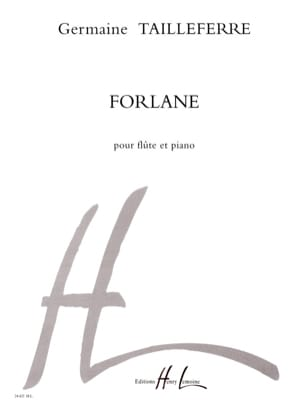 Germaine Tailleferre - forlane - Sheet Music - di-arezzo.com