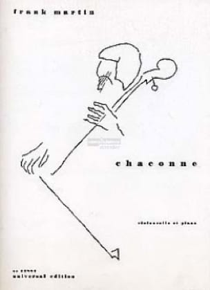 Chaconne 1931 - Frank Martin - Partition - laflutedepan.com