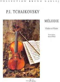 Piotr Illitch Tschaïkovsky - Mélodie - Partition - di-arezzo.fr