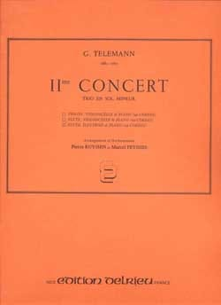 TELEMANN - Concert n ° 2 - Flute, oboe and piano - Sheet Music - di-arezzo.com