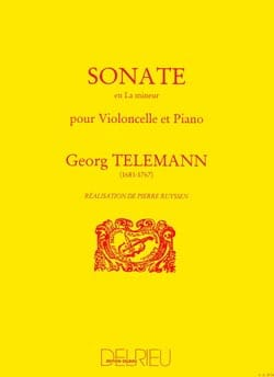 TELEMANN - Sonata in the minor - Sheet Music - di-arezzo.com