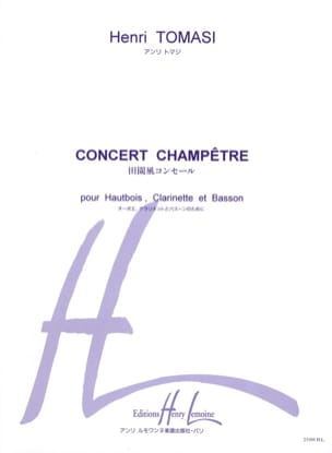 Henri Tomasi - Country Concert - Driver Parts - Sheet Music - di-arezzo.co.uk