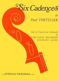 6 Cadences Paul Tortelier Partition Violoncelle - laflutedepan