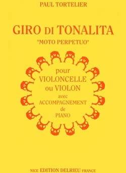Paul Tortelier - Giro di Tonalita - Partition - di-arezzo.fr