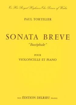 Paul Tortelier - Sonate brève Bucéphale - Partition - di-arezzo.fr
