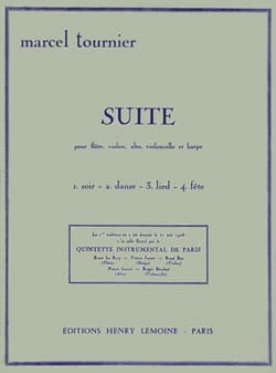 Marcel Tournier - Suite - Partition - di-arezzo.fr