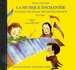 CD - la Musique Enchantée Volume 1 Sonya Veczan Partition laflutedepan