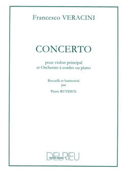 Veracini Francesco Maria / Ruyssen Pierre - Concerto pour Violon - Partition - di-arezzo.fr