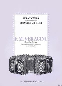 Francesco Maria Veracini - Sonate N° 2 - Flûte et Bandonéon - Partition - di-arezzo.fr