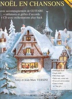 Jean-Marc et Anny Versini - Noël en Chansons - Guitare - Partition - di-arezzo.fr