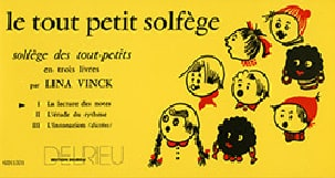 Lina Vinck - The Little Solfeggio Volume 1 - Sheet Music - di-arezzo.co.uk