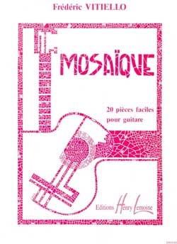 Mosaïque Frédéric Vitiello Partition Guitare - laflutedepan