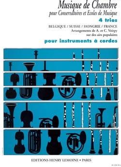 4 Trio pour instruments à cordes - A. et C. Voirpy - laflutedepan.com