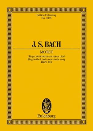 Motet Singet dem Herrn ein Neues Lied, BWV 225 - laflutedepan.com