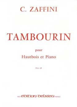 Clément Zaffini - Tambourine - Sheet Music - di-arezzo.co.uk
