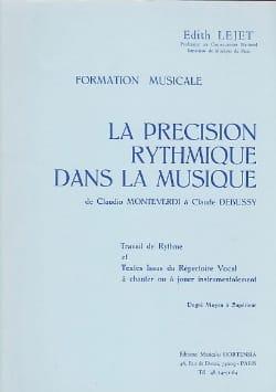 Edith Lejet - Rhythmic precision ... - Medium to Sup. - Partition - di-arezzo.co.uk