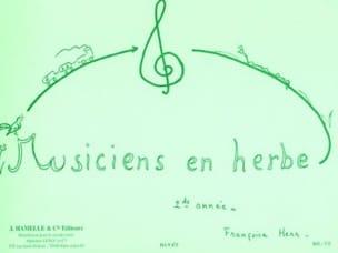 Françoise Herr - Musiciens en herbe – 2ème année - Partition - di-arezzo.fr
