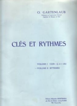 Odette Gartenlaub - Keys and Rhythms - Volume 2: Rhythm - Partition - di-arezzo.com