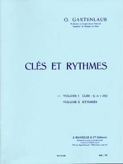 Odette Gartenlaub - Keys and rhythms - Volume 1: Keys 5 and 7 keys - Sheet Music - di-arezzo.com