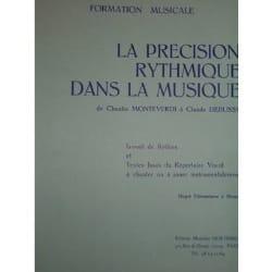 Edith Lejet - La précision rythmique ... - Elém. à Moyen - Partition - di-arezzo.fr