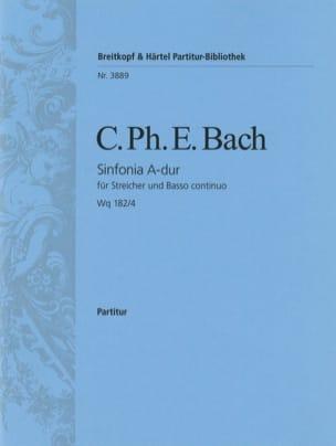 Symphonie, Nr. 4 A-dur Wq 182/4 - laflutedepan.com