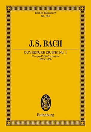 Ouverture (Suite) N° 1 en Do Majeur Bwv 1066 - laflutedepan.com
