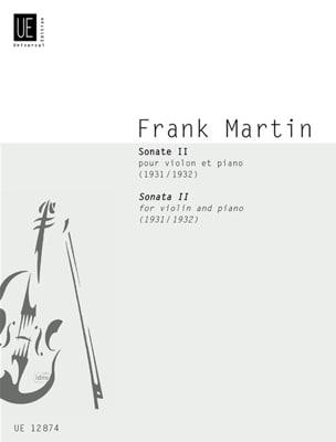 Sonate 1931/32 Frank Martin Partition Violon - laflutedepan