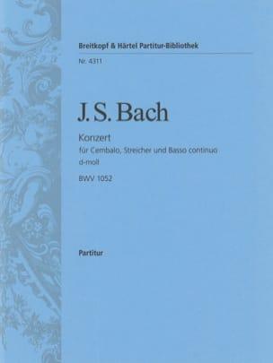 Johann Sebastian Bach - Cembalo-Konzert D-Moll, BWV 1052 - Conducteur - Partition - di-arezzo.fr