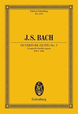 Ouverture (Suite) N° 3 en Ré Majeur - BACH - laflutedepan.com