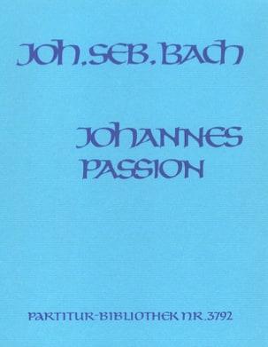 Johann Sebastian Bach - Johannes-Passion - Partition - di-arezzo.fr