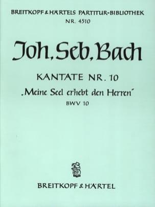 BACH - Kantate 10 Meine Seel Erhebt Den Herren - Conducteur - Partition - di-arezzo.fr