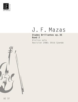 MAZAS - Brilliant Studies Op. 36 Vol.2 Szende - Partition - di-arezzo.com