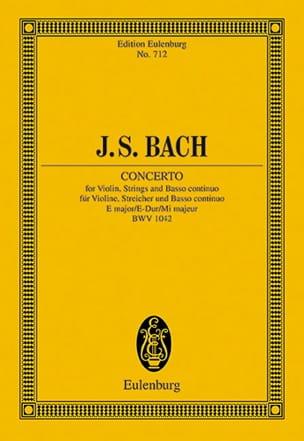 Violin-Konzert E-Dur BWV 1042 E-Dur - BACH - laflutedepan.com