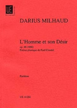 L' Homme et Son Désir - Conducteur - MILHAUD - laflutedepan.com