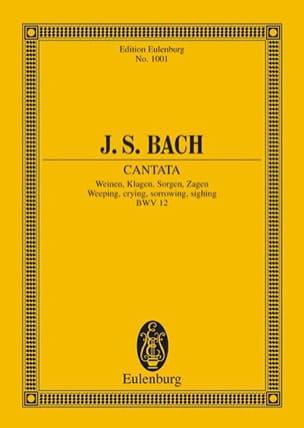Cantate Weinen, Klagen, Sorgen, Zagen BWV 12 - BACH - laflutedepan.com