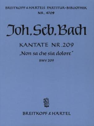 BACH - Kantate 209 Non sa che sia dolore - Conducteur - Partition - di-arezzo.fr