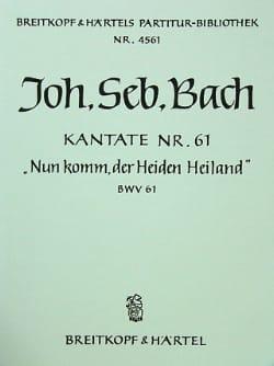 Kantate 61 Nun komm, der Heiden Heiland –Conducteur - laflutedepan.com