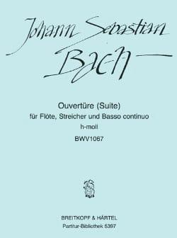 BACH - Ouvertüre Suite Nr. 2 h-moll BWV 1067 - Partition - di-arezzo.fr