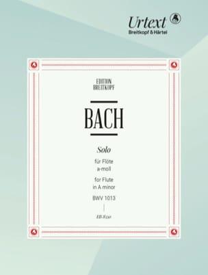 BACH - Solo (Partita) a-moll, BWV 1013 – Flöte solo - Partition - di-arezzo.fr