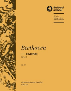 BEETHOVEN - Opening Egmont op. 84 - Harm. - Sheet Music - di-arezzo.com