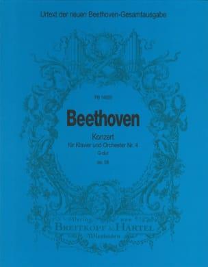 Klavierkonzert Nr. 4 G-Dur op. 58 -Partitur BEETHOVEN laflutedepan