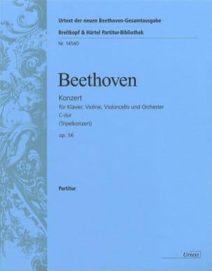 BEETHOVEN - Tripel-Konzert C-Dur op. 56 - Klavier, Violine, Violoncello - Partition - di-arezzo.fr
